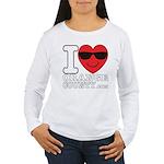 I LOVE ORANGE COUNTY Long Sleeve T-Shirt