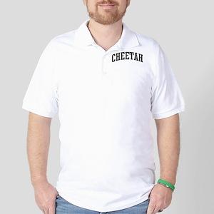 Cheetah (curve-grey) Golf Shirt