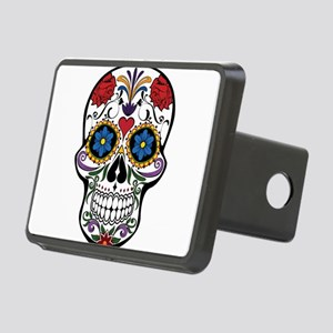 Sugar Skull II Rectangular Hitch Cover