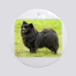 German Spitz 9W014D-009 Ornament (Round)