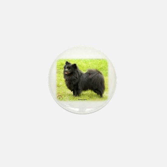 German Spitz 9W014D-009 Mini Button