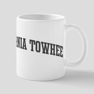 California Towhee (curve-grey Mug