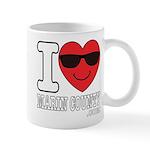 I LOVE MARIN COUNTY Mugs