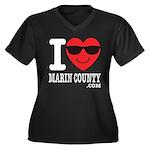 I LOVE MARIN COUNTY Plus Size T-Shirt