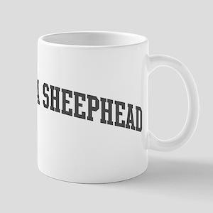 California Sheephead (curve-g Mug