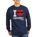 I LOVE MARIN COUNTY Long Sleeve T-Shirt
