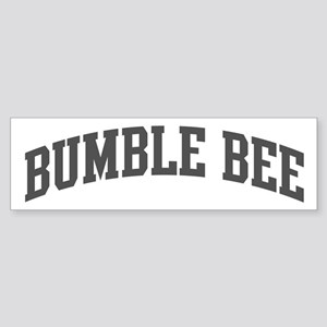 Bumble Bee (curve-grey) Bumper Sticker