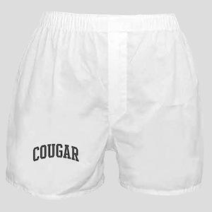Cougar (curve-grey) Boxer Shorts