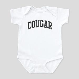 Cougar (curve-grey) Infant Bodysuit