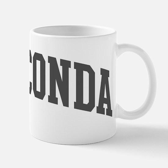 Anaconda (curve-grey) Mug