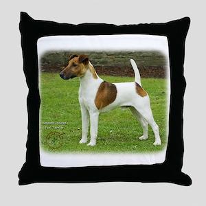 Fox Terrier 9T072D-126 Throw Pillow