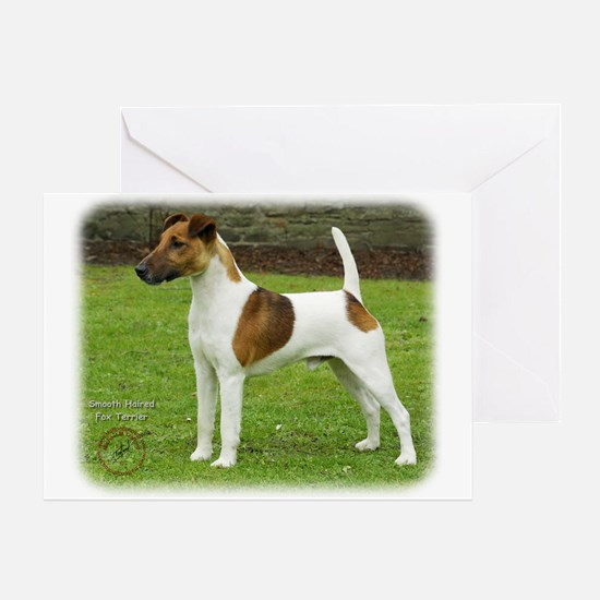 Fox Terrier 9T072D-126 Greeting Card