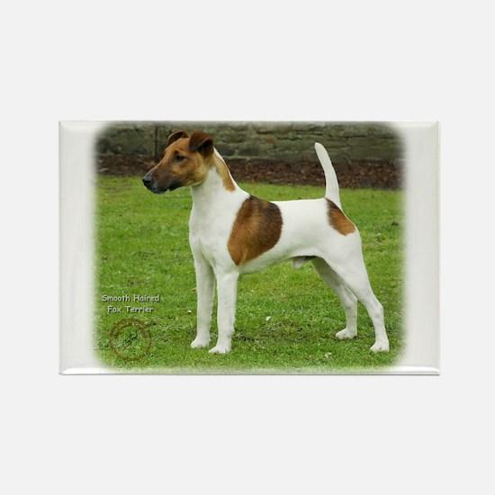 Fox Terrier 9T072D-126 Rectangle Magnet (100 pack)