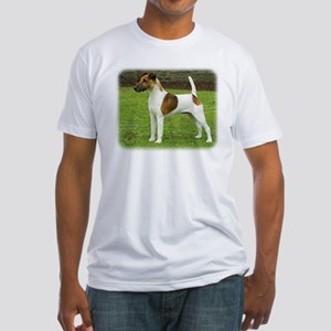Fox Terrier 9T072D-126 Fitted T-Shirt