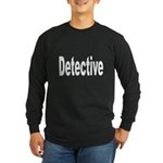 Detective Long Sleeve Dark T-Shirt