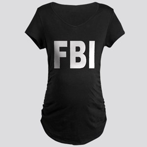 FBI Federal Bureau of Investi Maternity Dark T-Shi