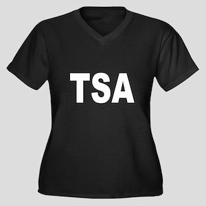 TSA Transportation Security A Women's Plus Size V-