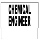Chemical Engineer Yard Sign
