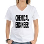 Chemical Engineer Women's V-Neck T-Shirt