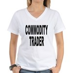 Commodity Trader Women's V-Neck T-Shirt