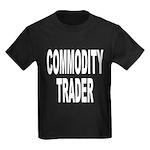 Commodity Trader Kids Dark T-Shirt