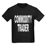 Commodity Trader Kids Dark T-Shirt