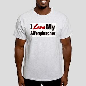 I Love My Affenpinscher Light T-Shirt