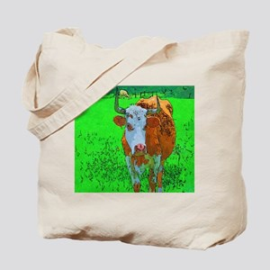 TEXAS COW Tote Bag