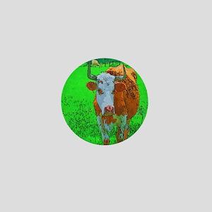 TEXAS COW Mini Button