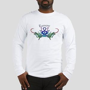 Ramone's Celtic Dragons Name Long Sleeve T-Shirt
