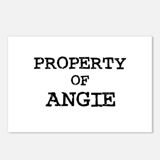 Property of Angie Postcards (Package of 8)