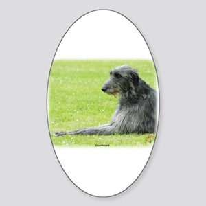 Deerhound 9R061D-090 Sticker (Oval)