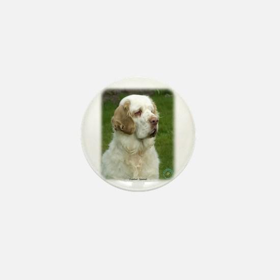 Clumber Spaniel 9Y003D-101 Mini Button