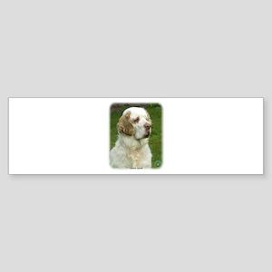 Clumber Spaniel 9Y003D-101 Sticker (Bumper)