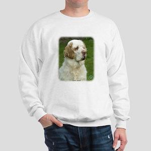 Clumber Spaniel 9Y003D-101 Sweatshirt
