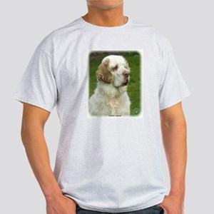 Clumber Spaniel 9Y003D-101 Light T-Shirt