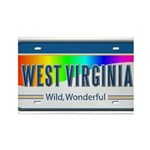 West Virginia Rectangle Magnet (10 pack)