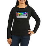 West Virginia Women's Long Sleeve Dark T-Shirt