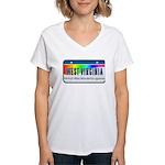 West Virginia Women's V-Neck T-Shirt