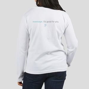 Massage Therapist Women's Long Sleeve T-Shirt