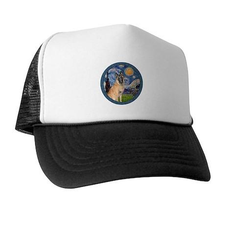Starry/Belgian Malanois Trucker Hat