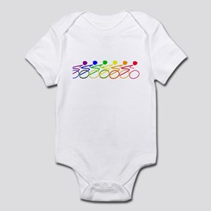Ride a bike Infant Bodysuit