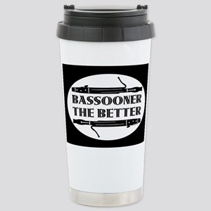 Bassooner the Better (h) Stainless Steel Travel Mu