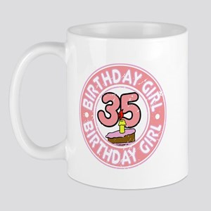 Birthday Girl #35 Mug