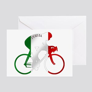 Italian Cycling Greeting Cards