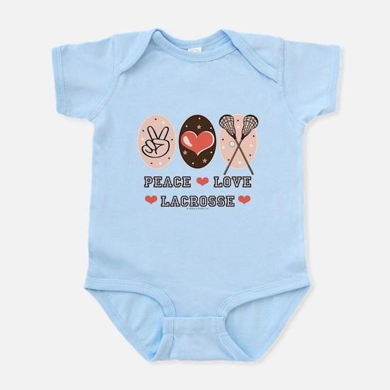 Peace Love Lacrosse Infant Bodysuit