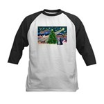 XmasMagic/TibetanTer 5 Kids Baseball Jersey
