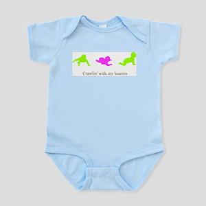 Crawlin With My Homies Infant Bodysuit