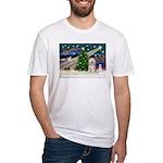 XmasMagic/TibetanTer(W) Fitted T-Shirt