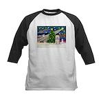 XmasMagic/TibetanTer(W) Kids Baseball Jersey